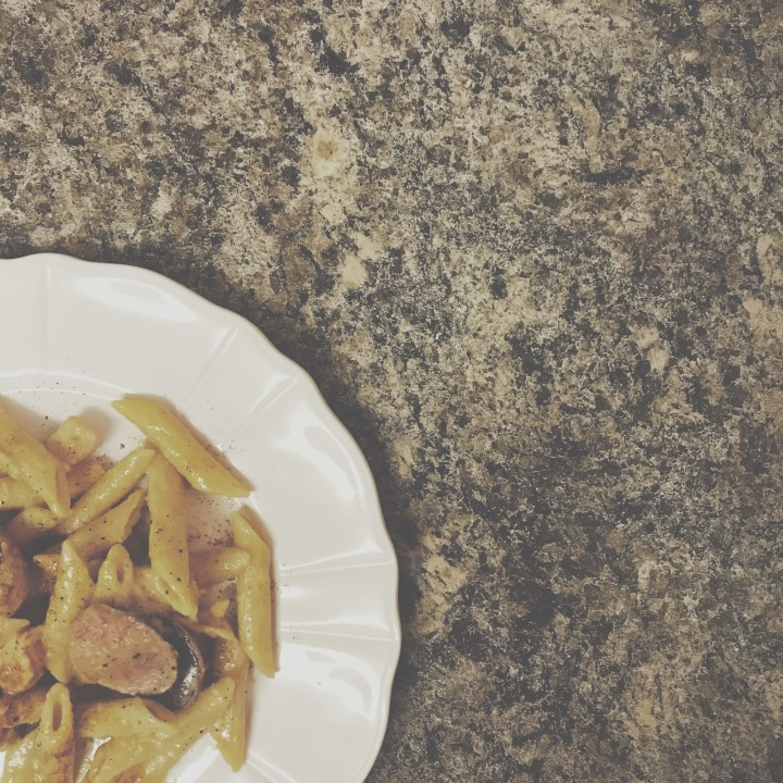 Cajun Chicken & SausageAlfredo