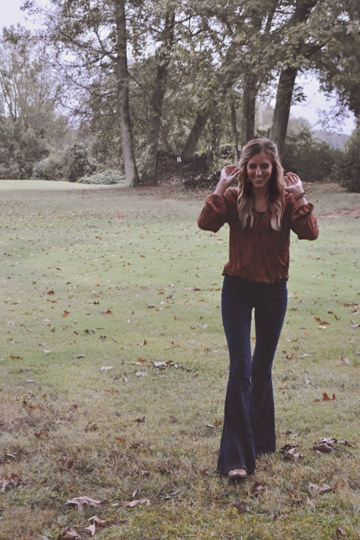 gloomy days + bell bottoms